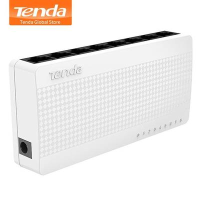 SWITCH MINI TENDA S108 V8 AUTOSENSING 8 PORTE 10/100