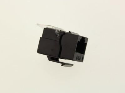 MODULO KEYSTONE DATI RJ45 CAT.6 TOOLESS UTP NERO